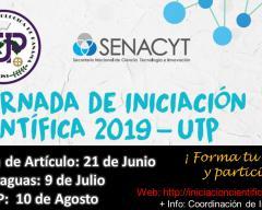 Afiche Promocional de la Jornada de Iniciación Científica (JIC) en Veraguas.