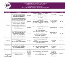 Programa de Receso Académico Verano 2019