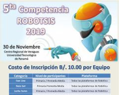 Afiche promocional V Robotosis 2019